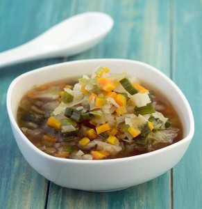 Chinese Clear vegetable Soup
