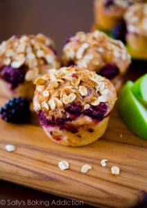 Sky-High-Blackberry-Apple-Muffins-8