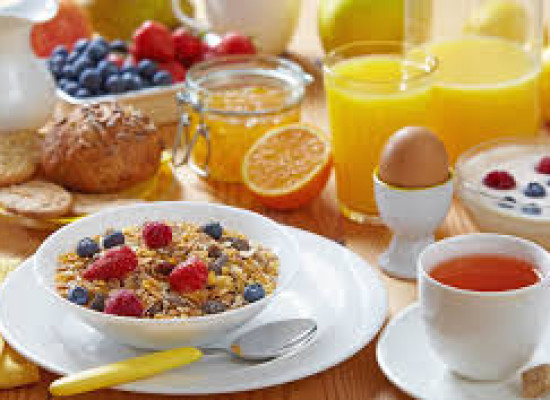 Breakfast, the right start of a day
