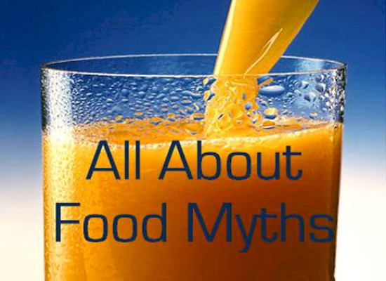 Food Myths- The Secret Revealed