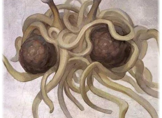 Pastafarianism: All Hail His Noodliness