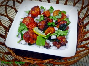Hot and spicy mouth watering chicken 65 recipe