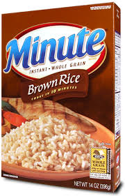 brown instant rice