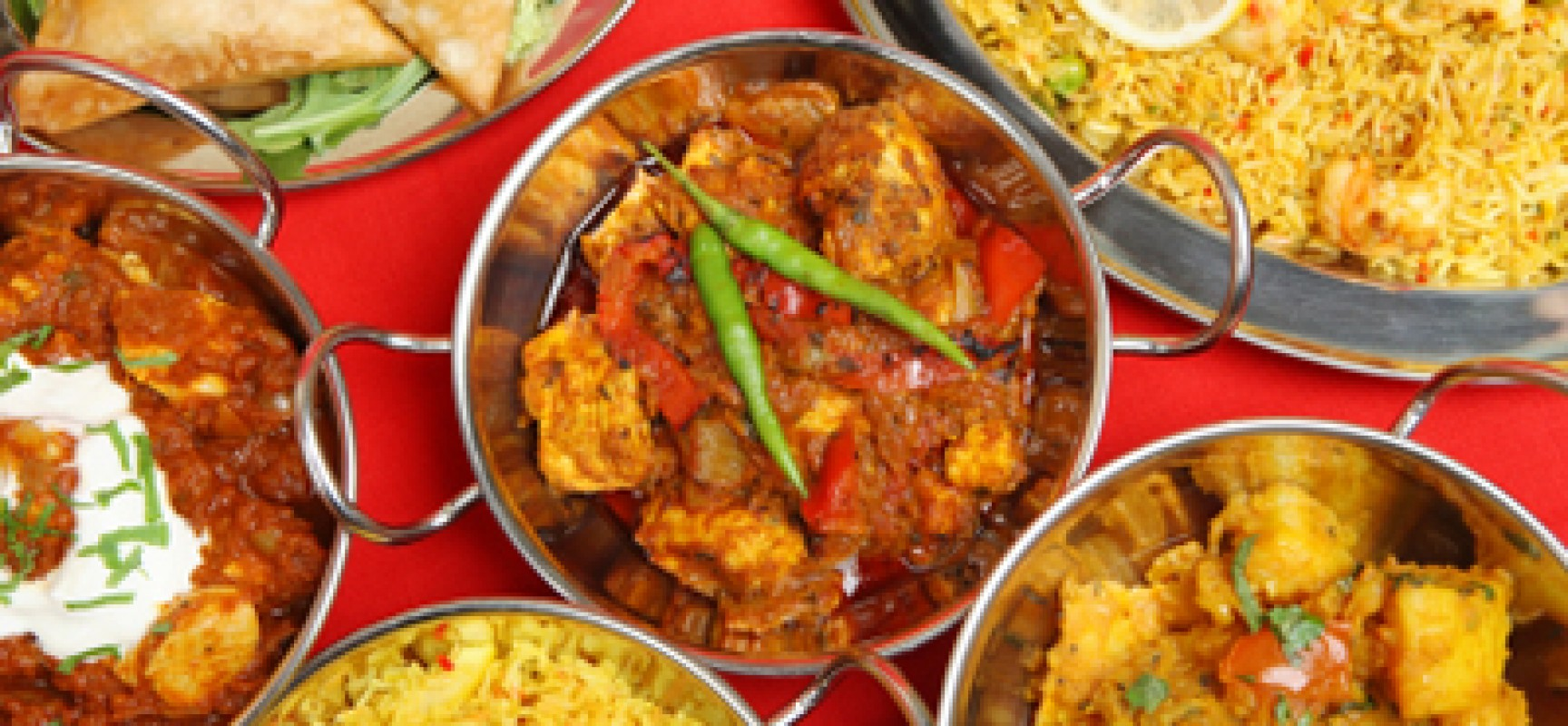 the indian cuisine The indian cuisine offers delicious food, serving classic indian dishes a la carte style, or come in and try our buffet if you're craving traditional indian plates like classic paneer butter masala, chicken vindaloo, or one of our biryanis like goat or prawn biryani.