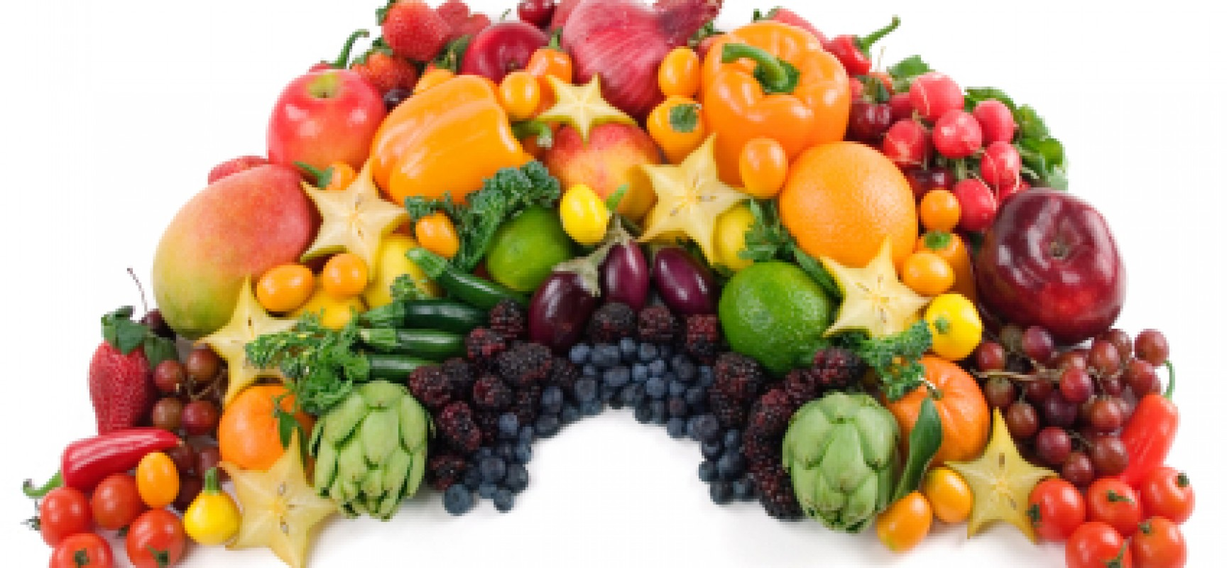 Eat a food Rainbow and Colour yourself Healthy!