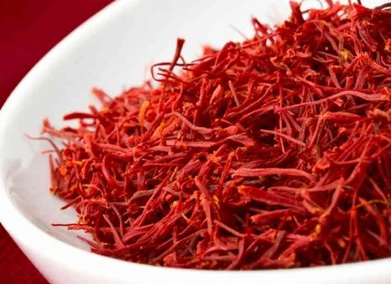 The crowning glory of the Ruby red- Saffron