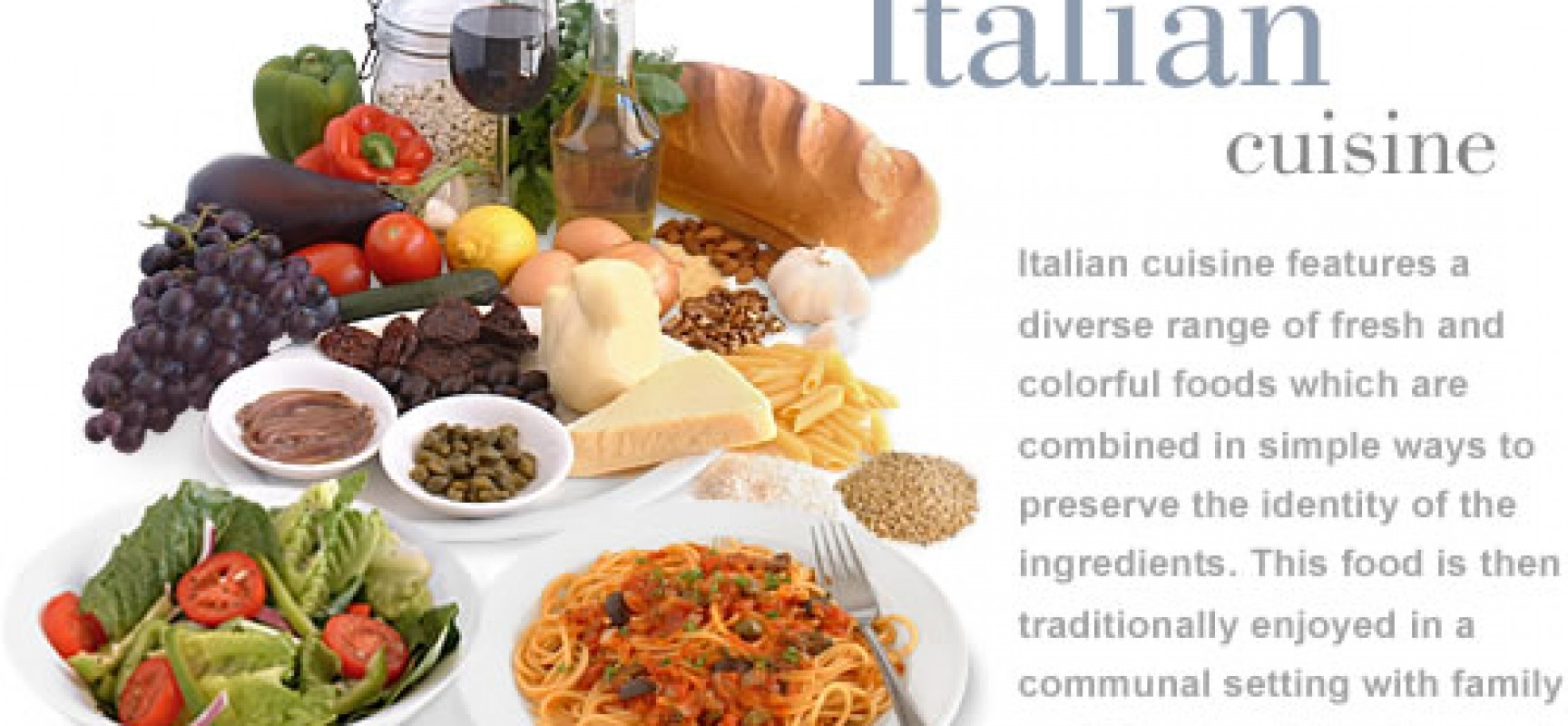 4 Italian Dishes You Must Have