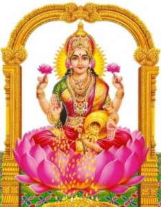 Lakshmi puja on third day