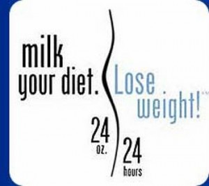 Taking low fat milk reduces weight