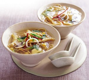 noodles with soup