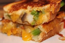 vege cheese sandwich