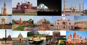 Sites-monuments-touristspots-architecture-of-Delhi