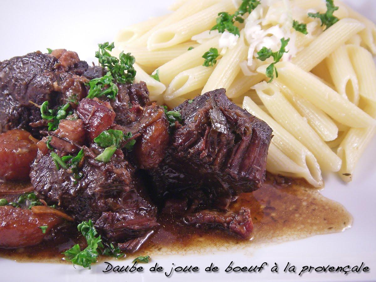 Tales served in a plate crave bits - Cuisiner des joues de boeuf ...