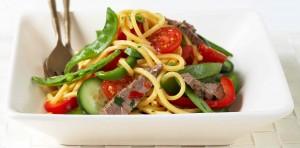 Maggi Noodle Salad