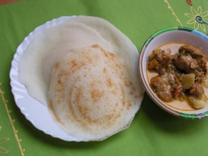 Chicken Stew with Appams