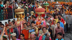 Festival celebrations in Shimla