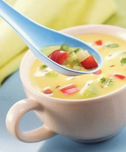Curd Shorba Soup