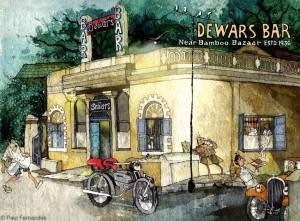 Dewars-Bar