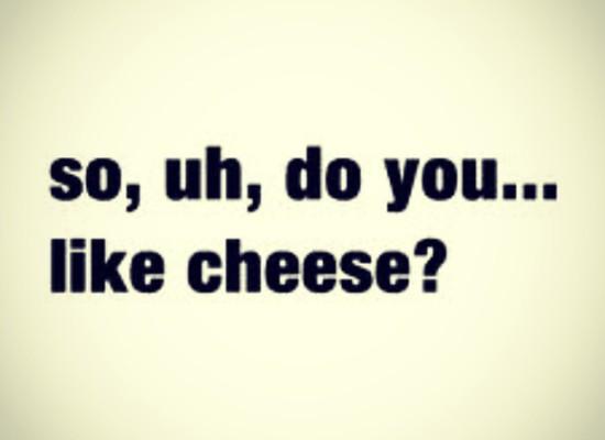 Say Cheese, Eat cheese, Love cheese!