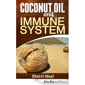 A book showing coconut oil is good for immune system