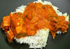 Chicken_Tikka_Masala_served with rice