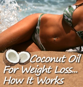 Coconut oil that is used for weight loss