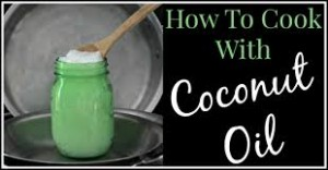 Cook using coconut oil with vibrant taste