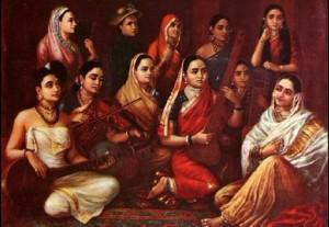 Indian-women-wearing-the-sari