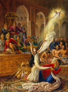 The Attempted Disrobing Of Draupadi
