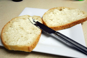 grilled-cheese-butter-bread