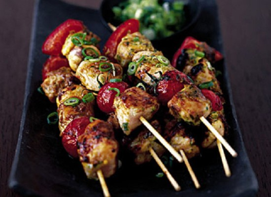Kebabs- something you can drool over.