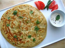 Aloo paratha is ready to serve