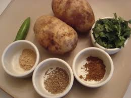 Aloo stuffing ingredients