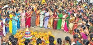 Bathukamma - a festival of flowers