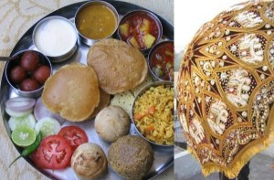 East India wedding food