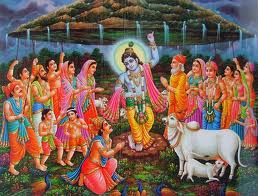Govardhan puja on fourth day