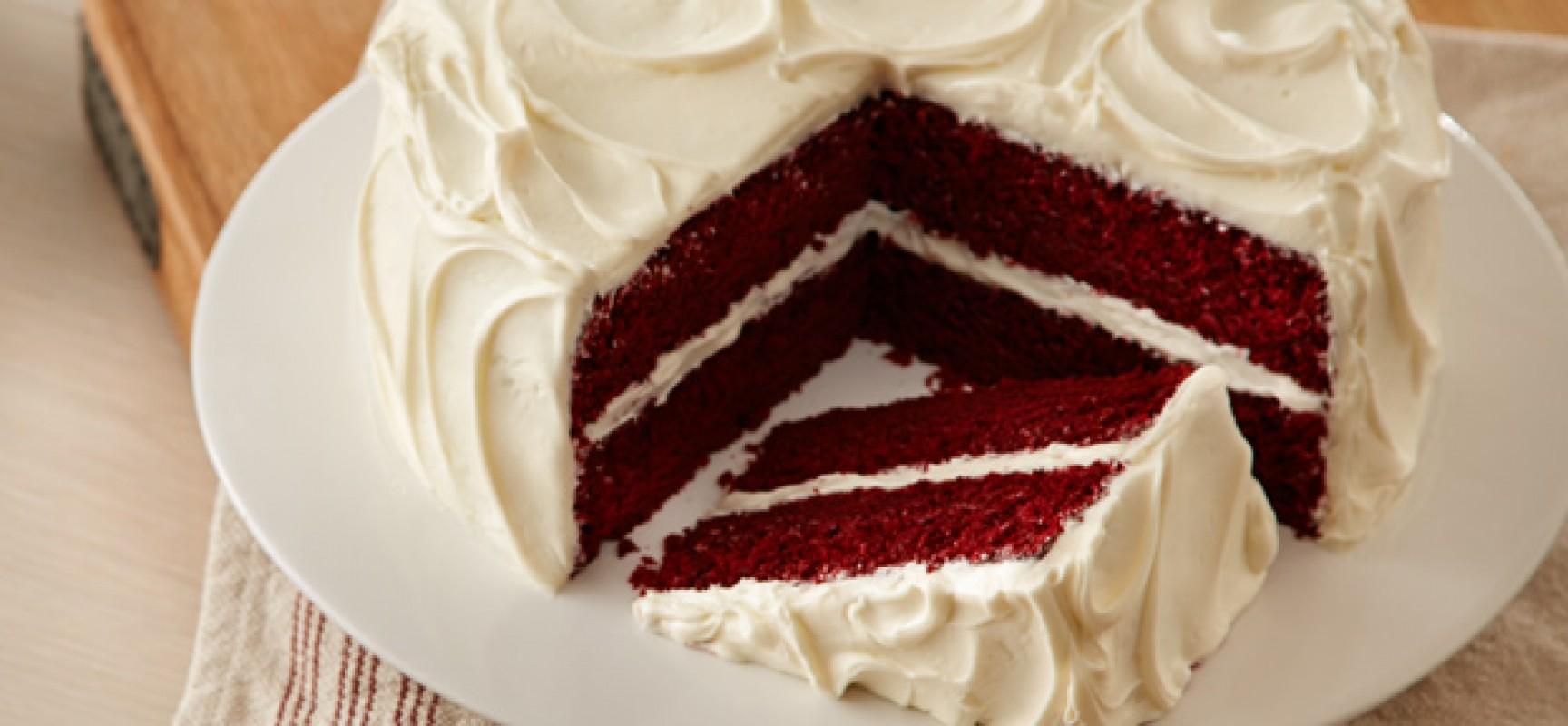 The Red Velvet Cake