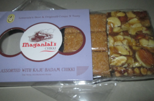 Maganlal's Chikki - Assorted pack