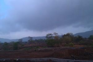 On the way to Lonavala