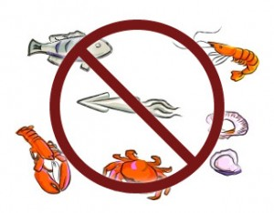 Sea food can be harmful