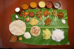 South Indian wedding food