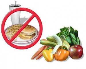 Stay away from oily food