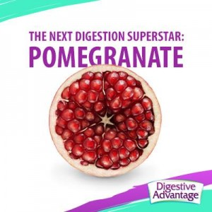 Pomegranate is good for digestion