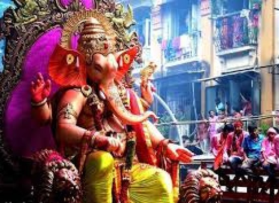 Ganesha Chaturthi : festive season that lasts for 10 days
