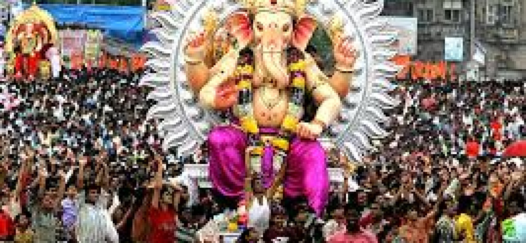 Ganesh chaturthi celebrations in India