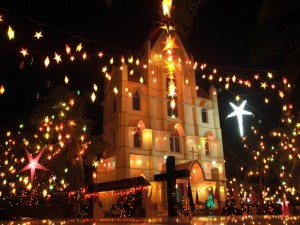 Churches in Kerala during Christmas
