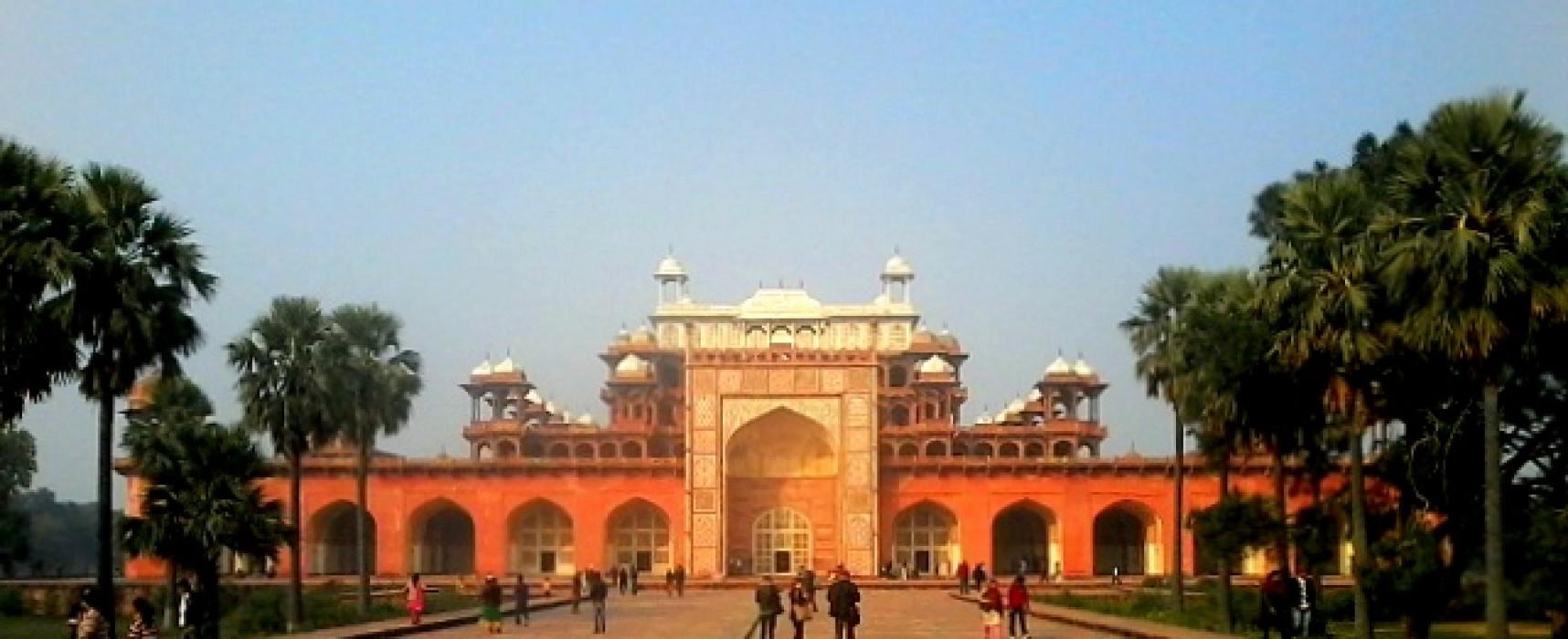 A Visit to Akbar's Tomb, Sikandra
