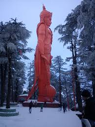 Jakko temple in Shimla located at the highest point
