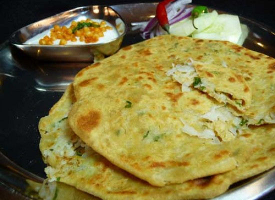 Stuffed Parathas from North India  !!!