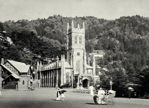 Pic showing the history of Shimla